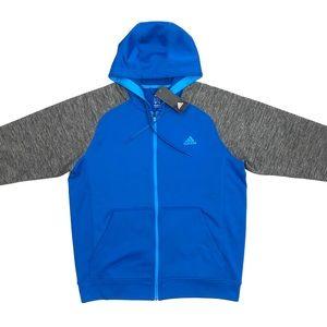Men's Adidas Climawarm Full Front Zip Hoodie